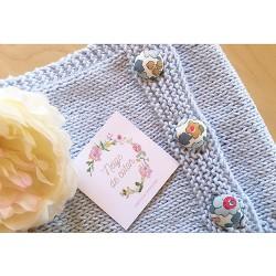 Les tours de cou tricotés main