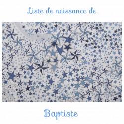 Liste de naissance de Baptiste