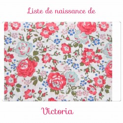 Liste de naissance de Victoria